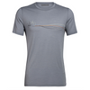 Icebreaker Men's Tech Lite Short Sleeve Crewe Cadence Paths