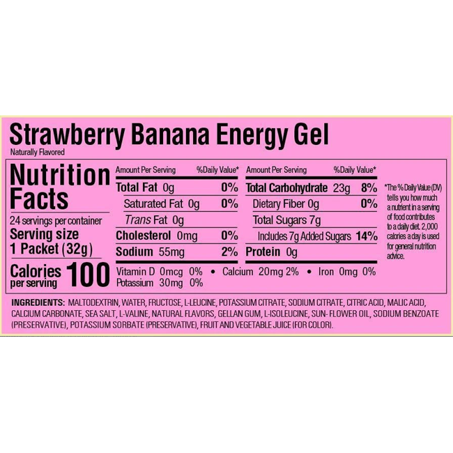 GU Strawberry Banana Gel