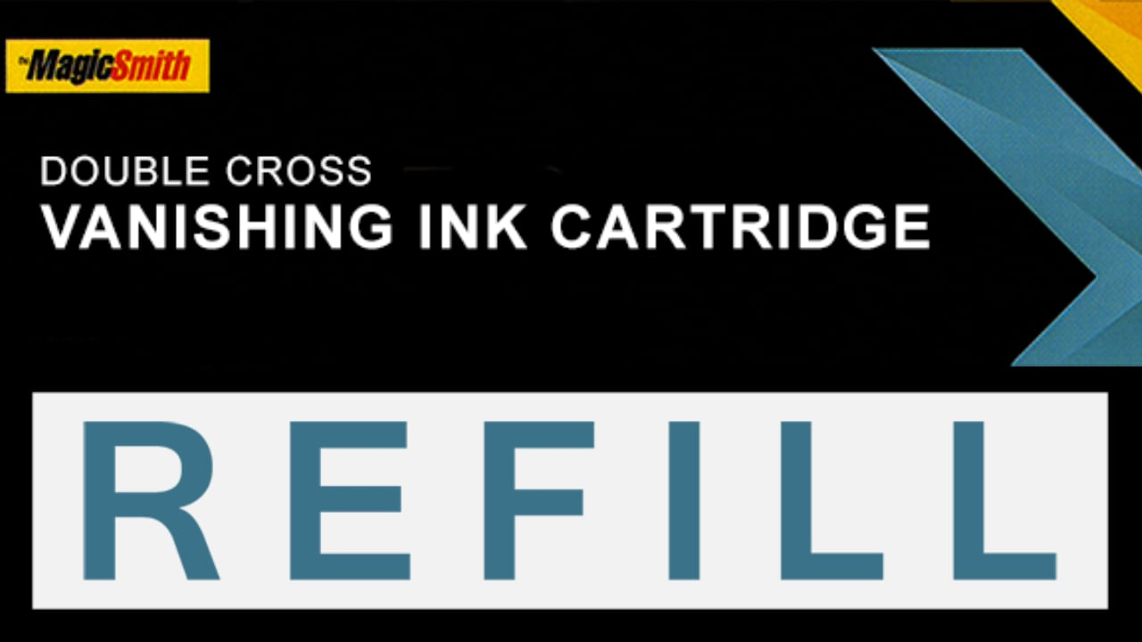 Title screen showing Double Cross Vanishing Ink Cartridge Refill