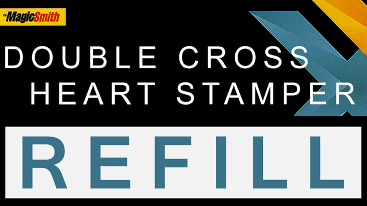 Title card showing Double Cross Heart Stamper Refill