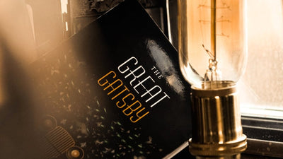 Front cover of The Great Gatsby book
