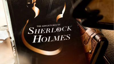 Front cover of Sherlock Holmes paperback book