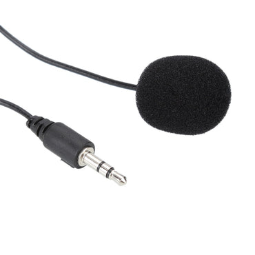 Portable External Clip-on Lapel Lavalier Microphone 3.5mm Jack For PC Handsfree Wired Condenser Mic For teaching Speeching