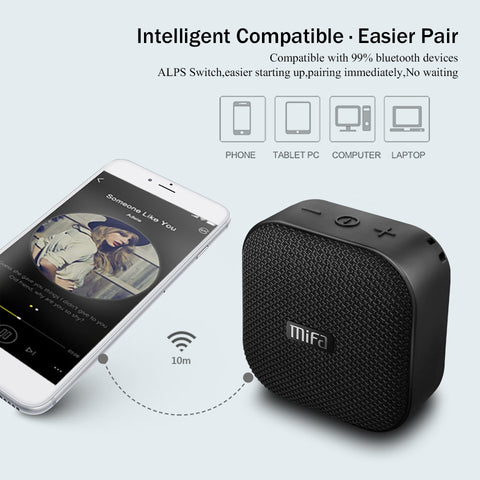 Mifa A1 Wireless Portable Bluetooth Speaker Waterproof Mini Stereo music Column Outdoor Handfree LoudSpeaker Suppot TF/SD Card