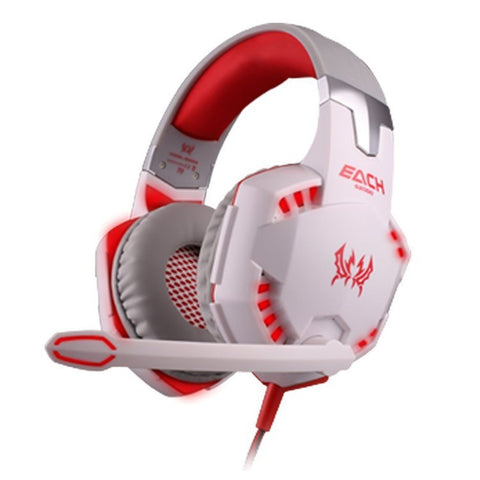 PC Gamer Stereo Hifi Gaming Headphones With Microphone
