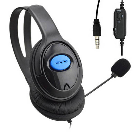 Seller Recommend 3.5mm Headphone Game Gaming Headphones Headset with Mic Wired for PS4 Sony PlayStation 4 /PC Computer