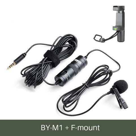 BOYA Lavalier Clip-On Microphone