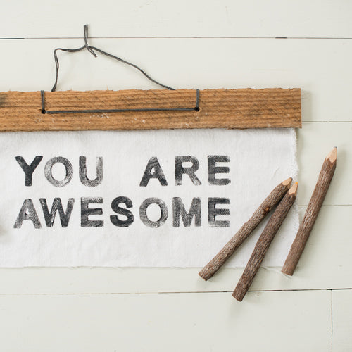 You are AWESOME wall art