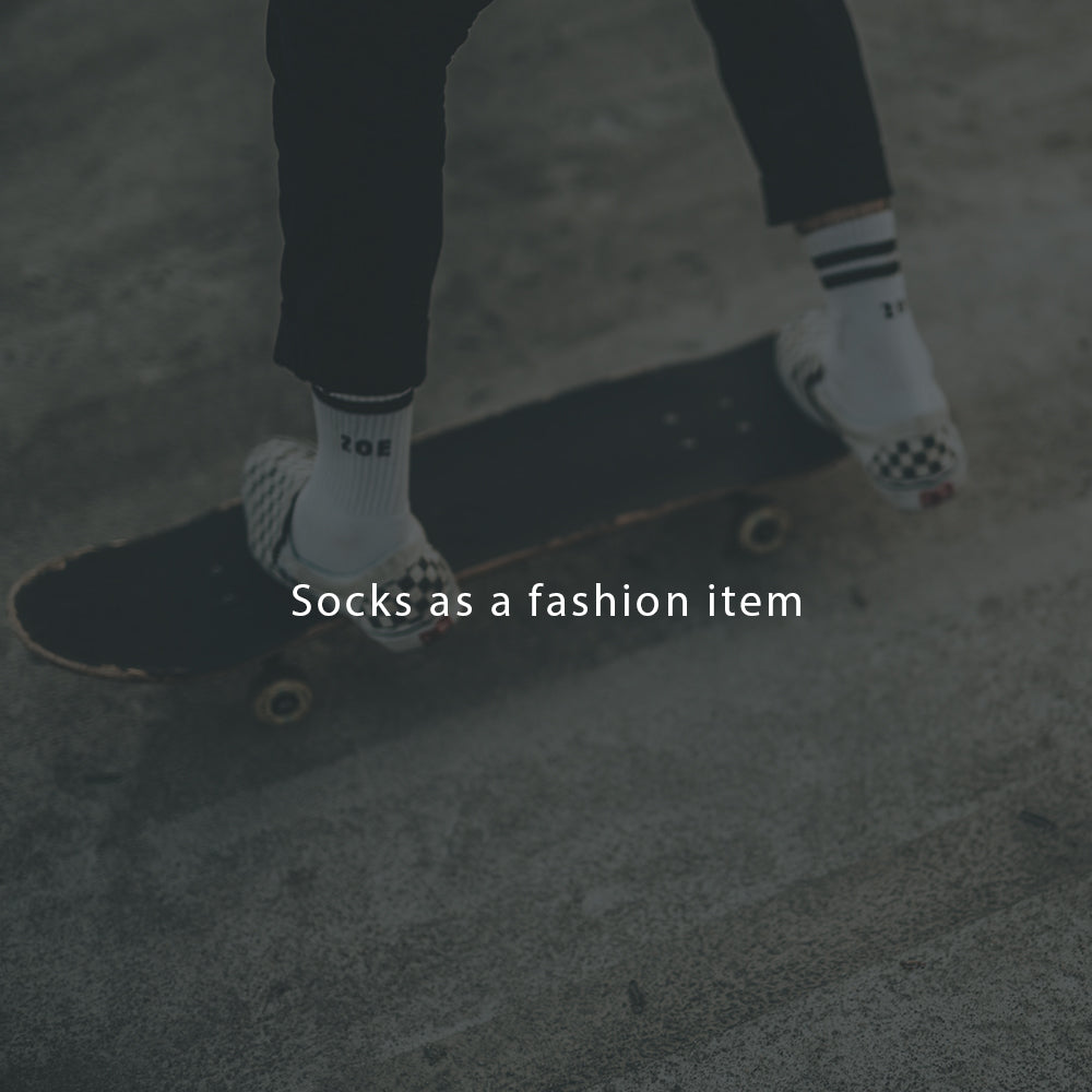 Socks as a fashion item