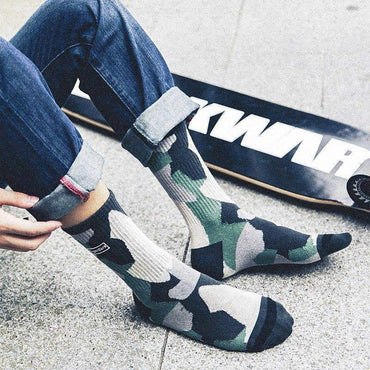 YAYUKATA Accessories YAYUKATA SuperDark Camo Socks