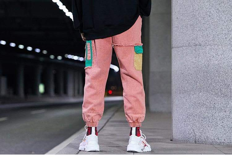 YAYUKATA Bottom Wear YAYUKATA Harajuku C2 Denim Joggers