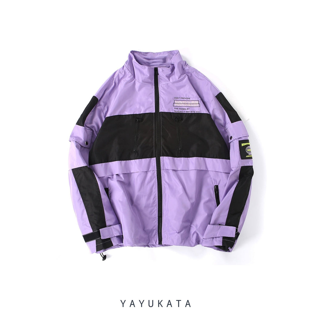 "YAYUKATA Coats & Jackets PURPLE / L YAYUKATA CK2 ""DISINTEGRATION"" Windbreaker"