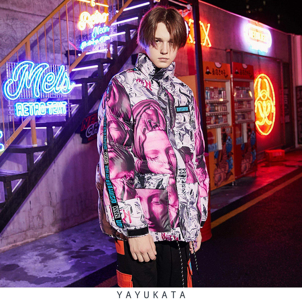 "YAYUKATA ZY1 ""DISINTEGRATION"" Oversized Jacket"