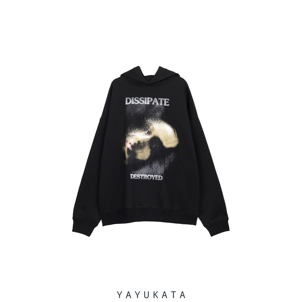 YAYUKATA Hoodies BLACK / XS VA8 Casual Cotton Hoodie