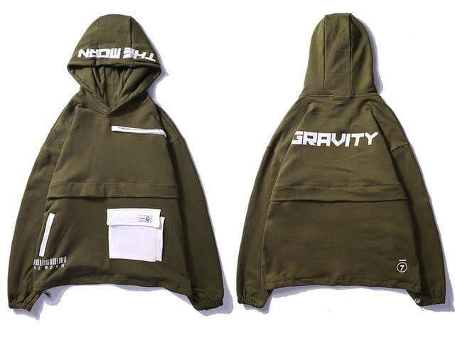 YAYUKATA Jacket Army Green / L YAYUKATA GRAVITY Windbreaker