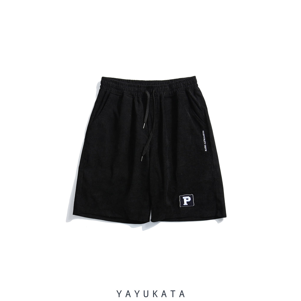 YAYUKATA Pants & Shorts BLACK / S QI4 Harajuku Summer Shorts