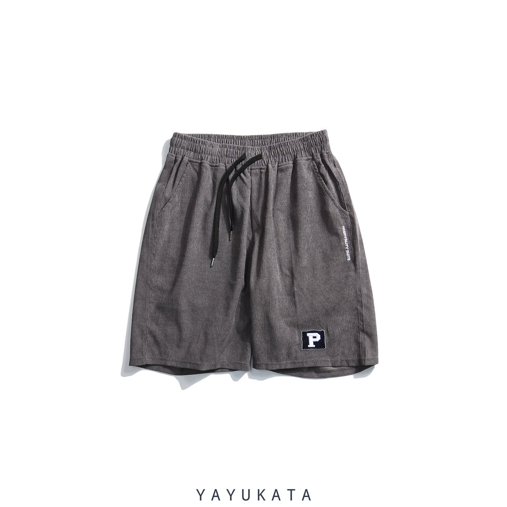 YAYUKATA Pants & Shorts GRAY / XL QI4 Harajuku Summer Shorts