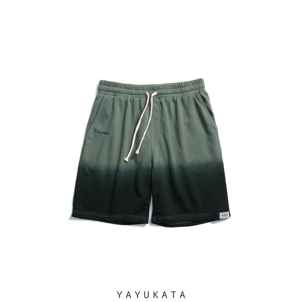 YAYUKATA Pants & Shorts GREEN / M VB5 Vintage Summer Shorts