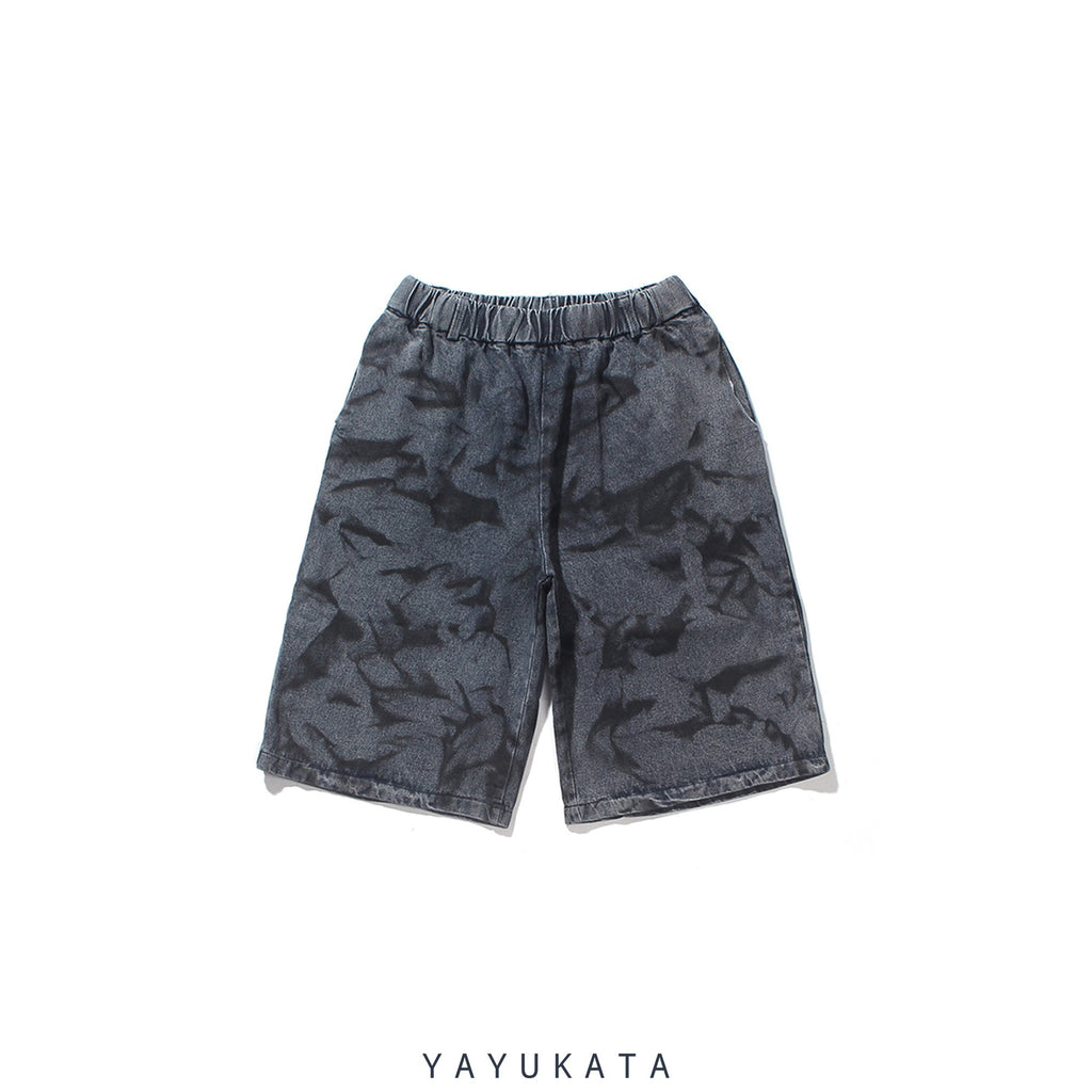YAYUKATA Pants & Shorts L QI5 Casual Summer Shorts