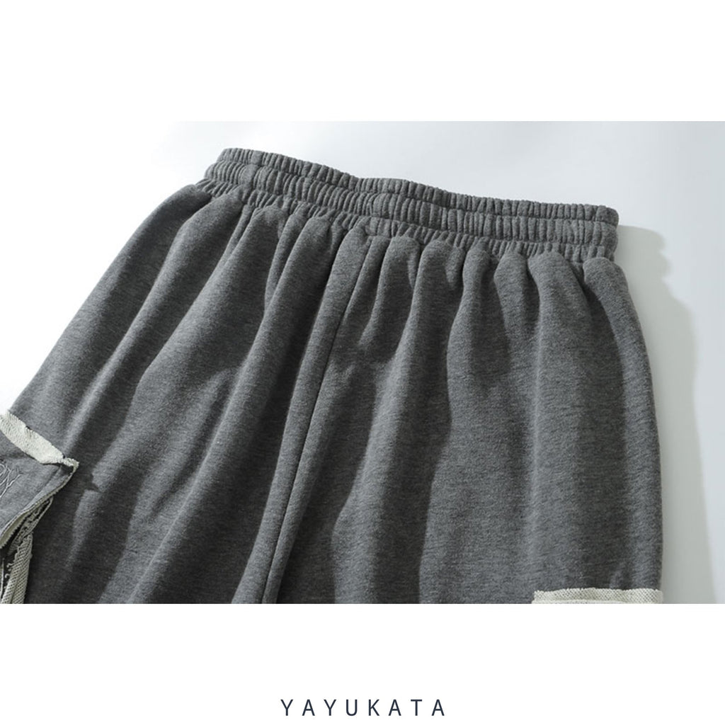 YAYUKATA Pants & Shorts QU7 Casual Summer Shorts
