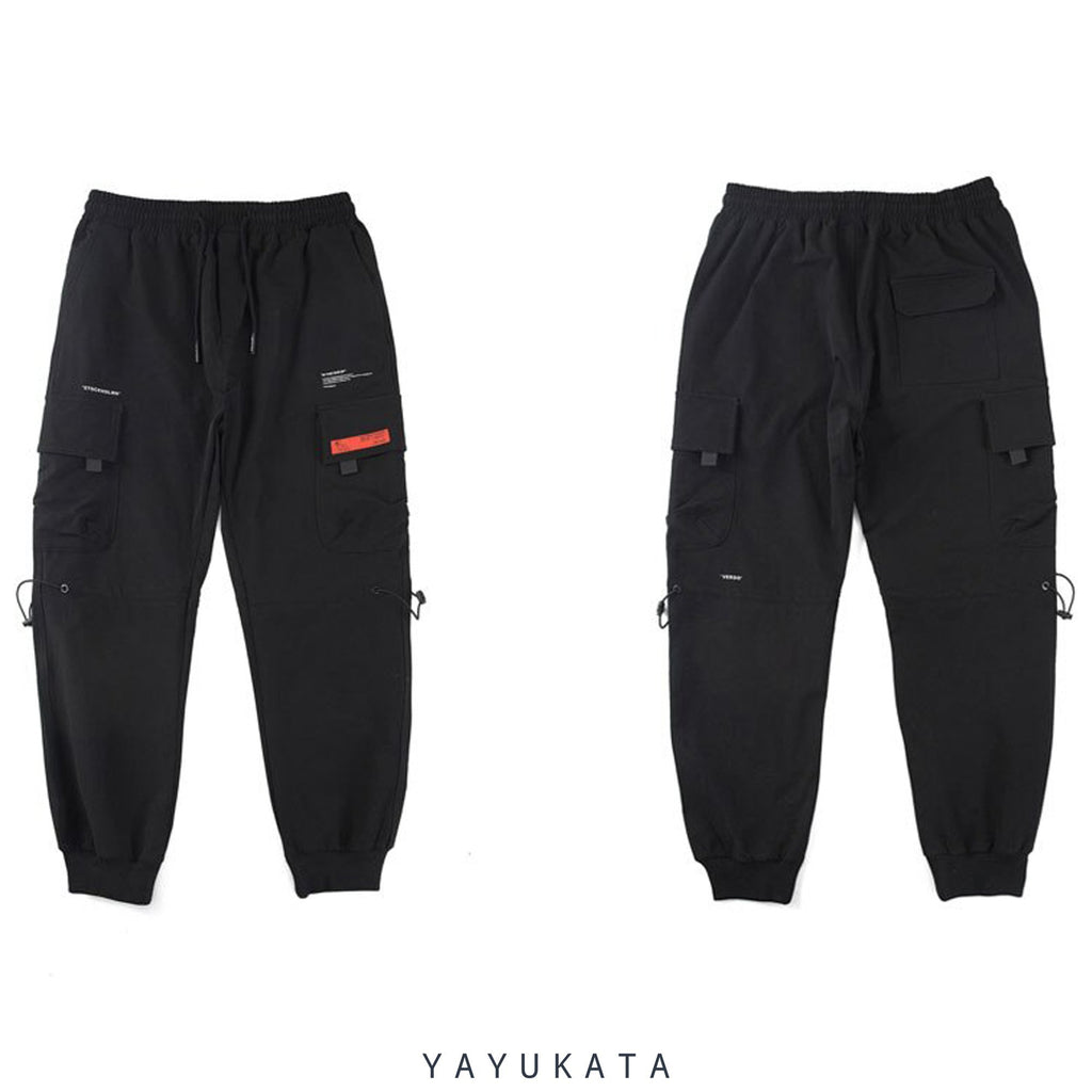 YAYUKATA Pants & Shorts QW7 Casual Street Wear Joggers