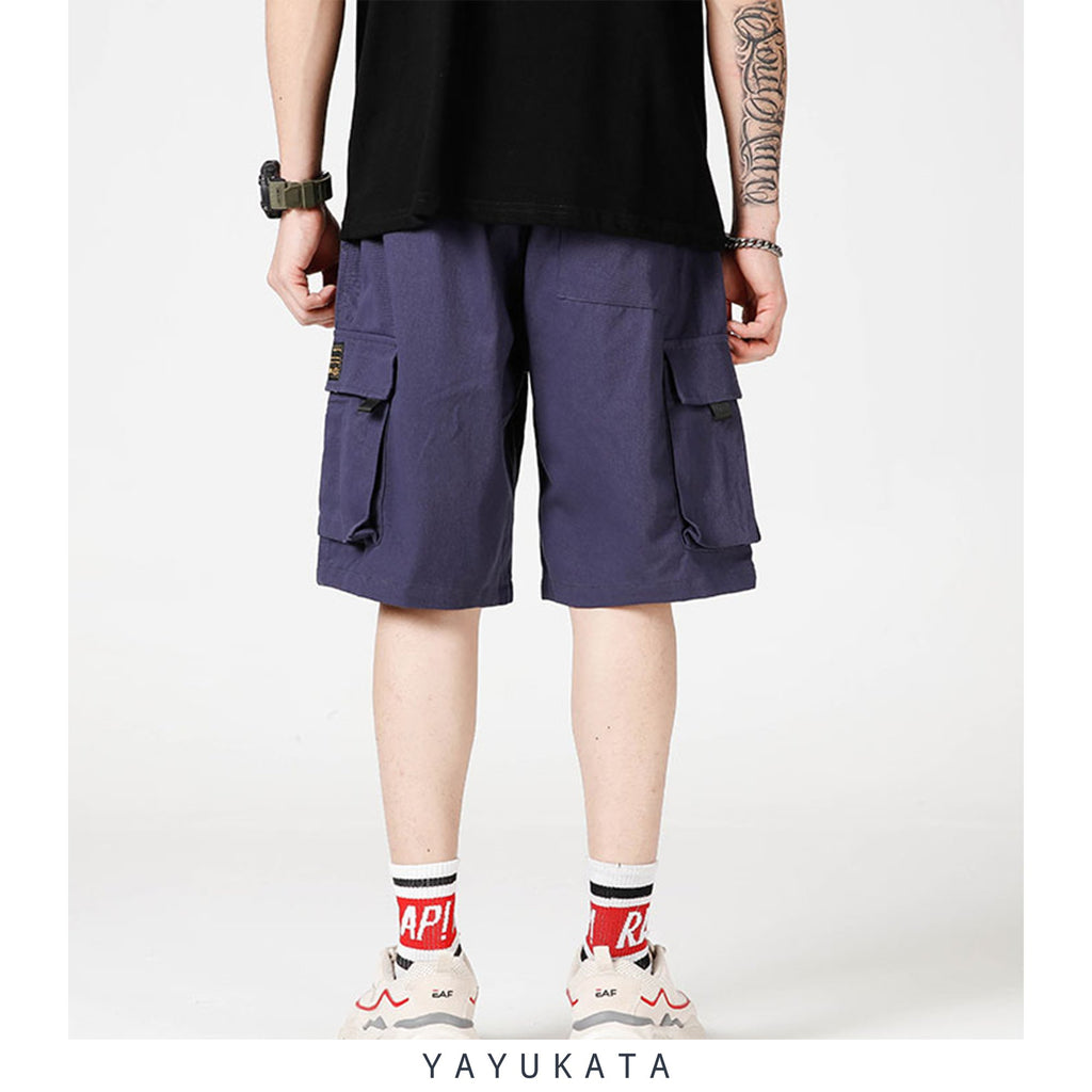 YAYUKATA Pants & Shorts WC3 Multi Pocket Cargo Shorts