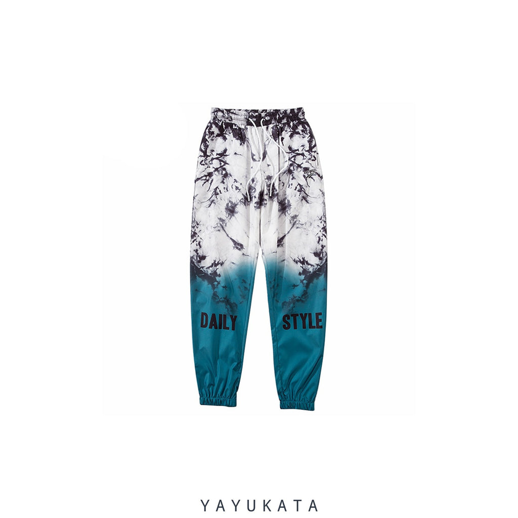 YAYUKATA Pants & Shorts XL / GREEN XC5 Summer Streetwear Joggers