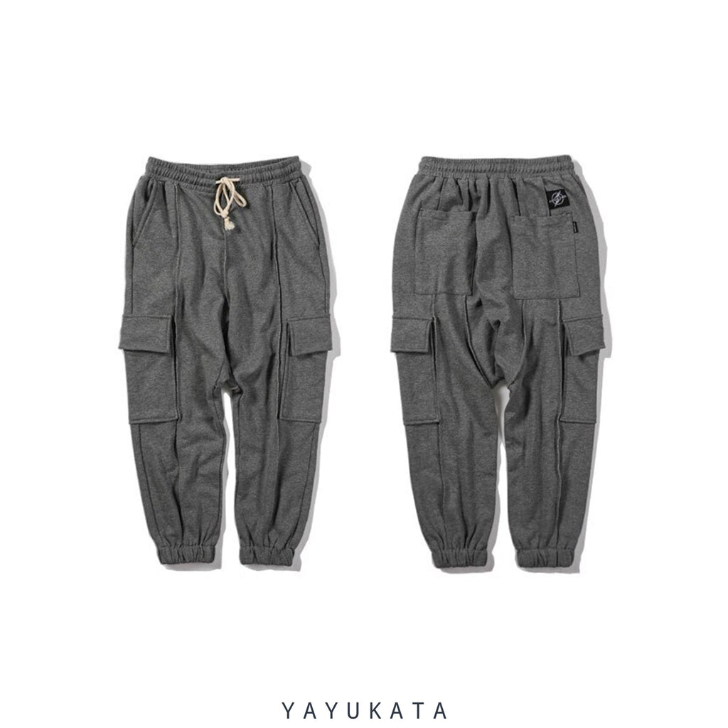 YAYUKATA Pants & Shorts ZC6 Casual Baggy Harajuku Sweat Pants