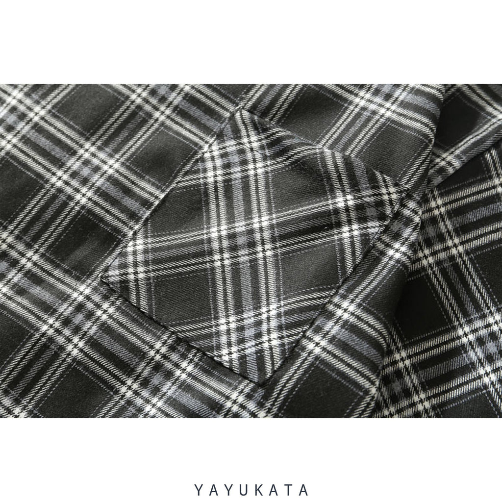 YAYUKATA Shirts ND2 Harajuku Front Pocket Shirt