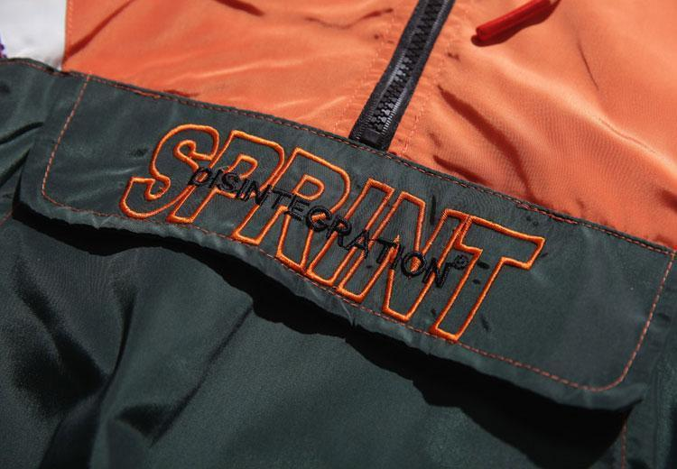 YAYUKATA SPRINT Half Zip Hooded Jacket