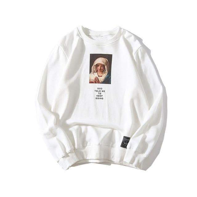 YAYUKATA Sweater White / M YAYUKATA MARY Sweater