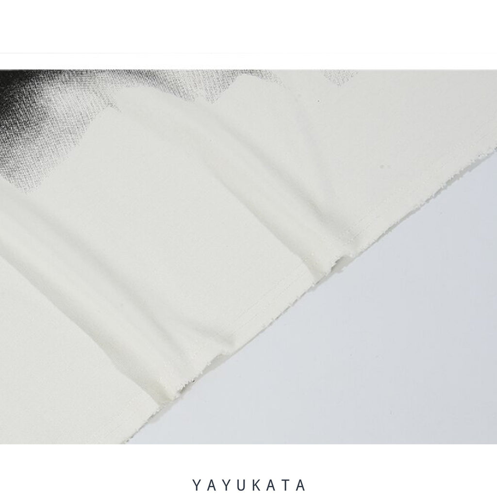 YAYUKATA Sweaters AD9 Casual Street-Art Sweater