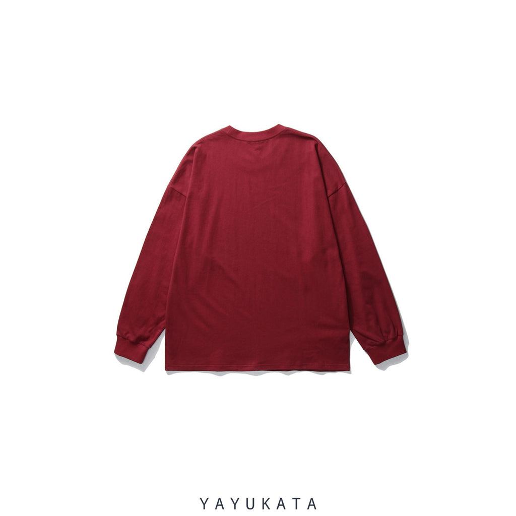 "YAYUKATA Sweaters QU9 ""Drink To Survive"" Printed Sweater"