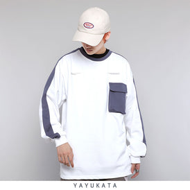 YAYUKATA Sweaters WHITE / XXL OS2 Front Pocket Sweater