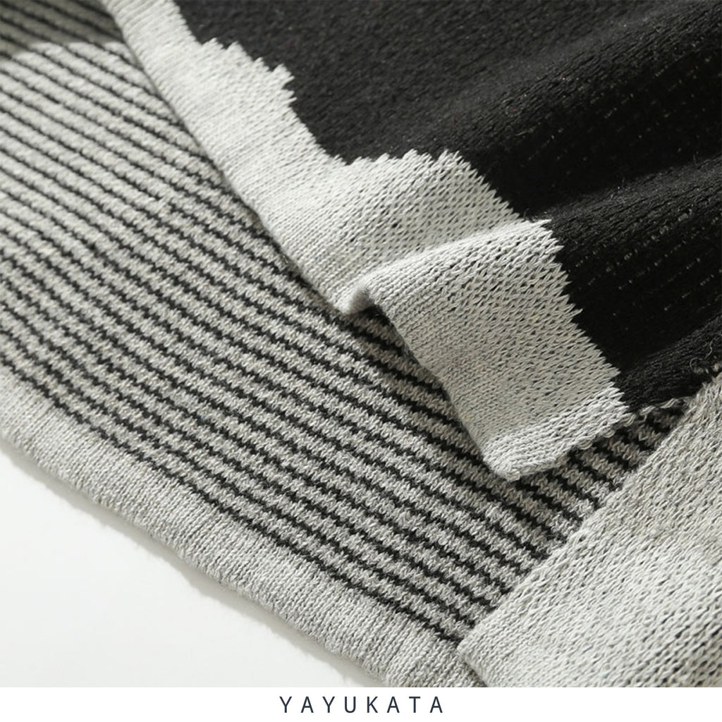 YAYUKATA Sweaters YB2 Knitted Camo Sweater