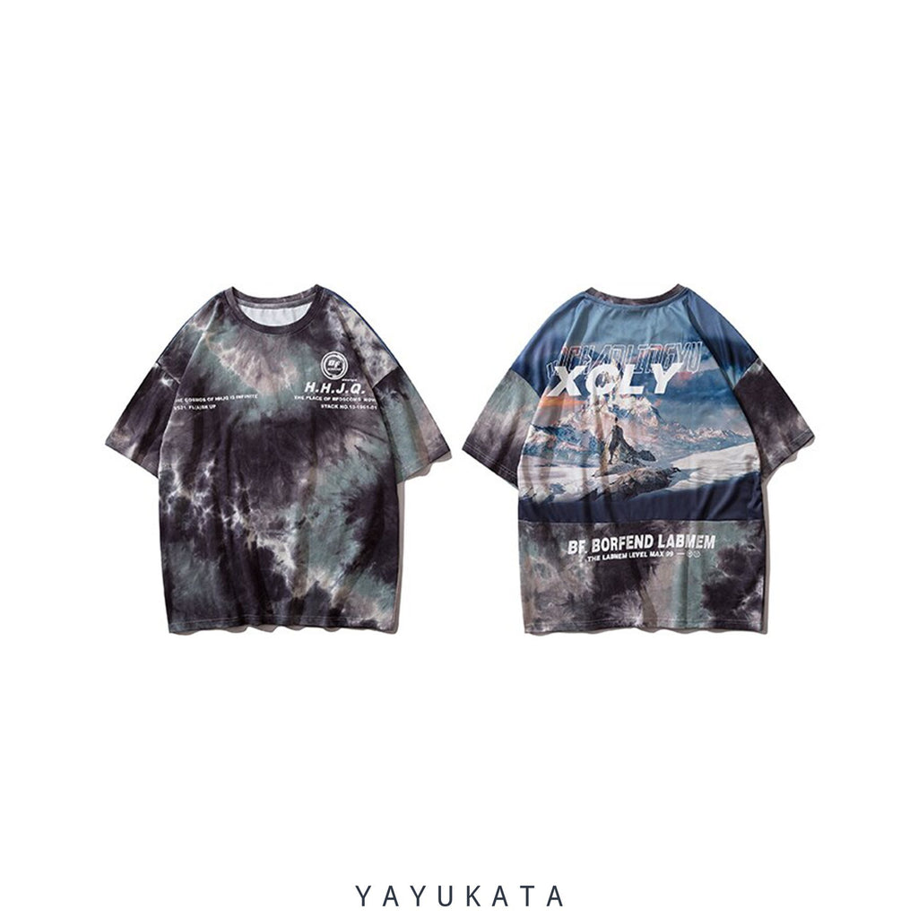 YAYUKATA Tees AS2 Printed Cotton Tee