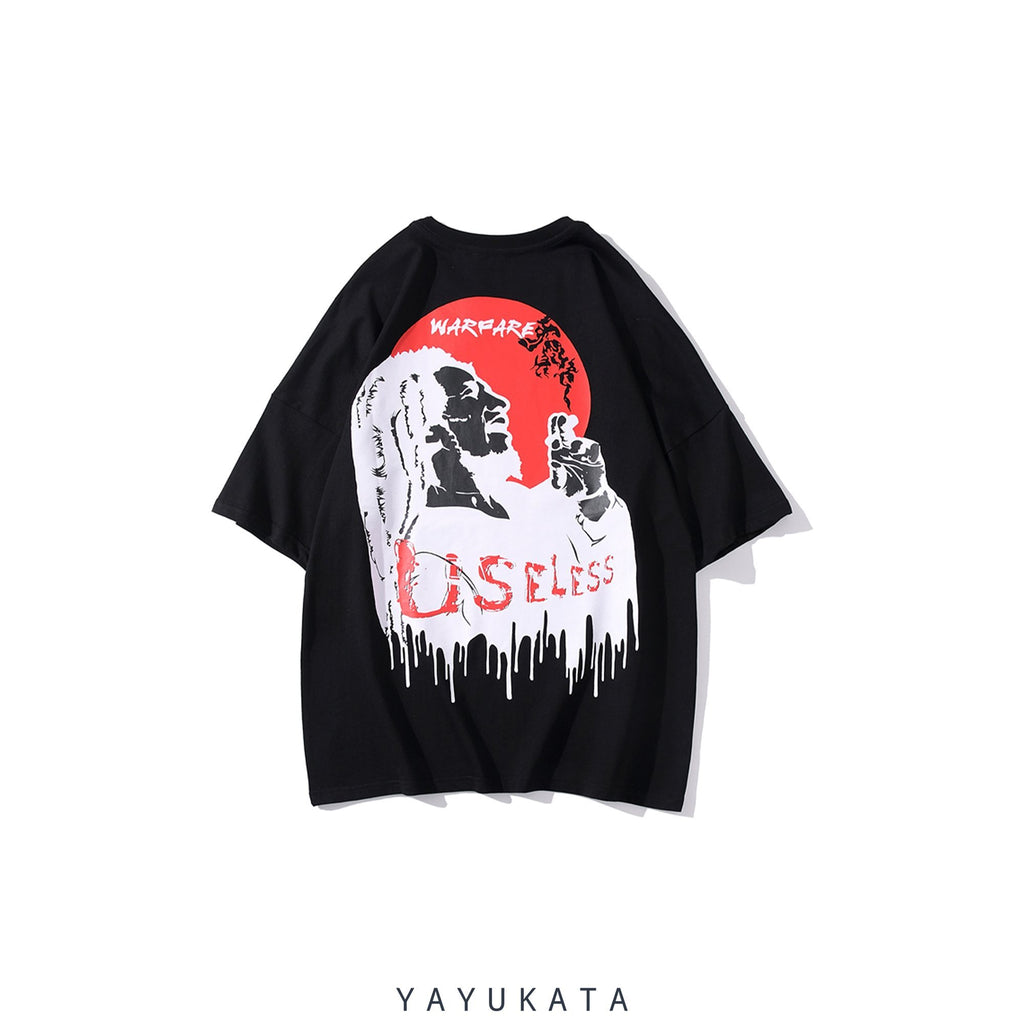 YAYUKATA Tees Black / S YB1 Casual Summer Cotton Tee