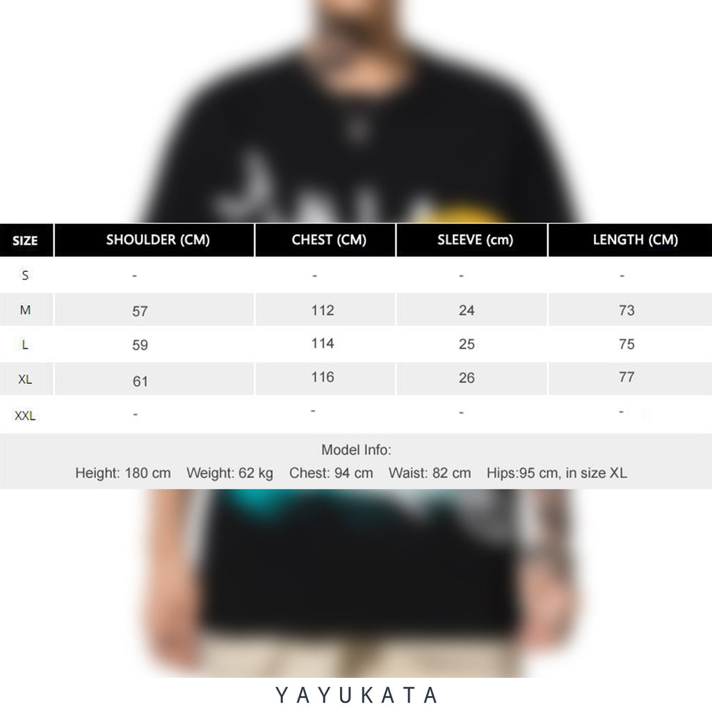YAYUKATA Tees ET4 Graffiti Print Cotton Tee