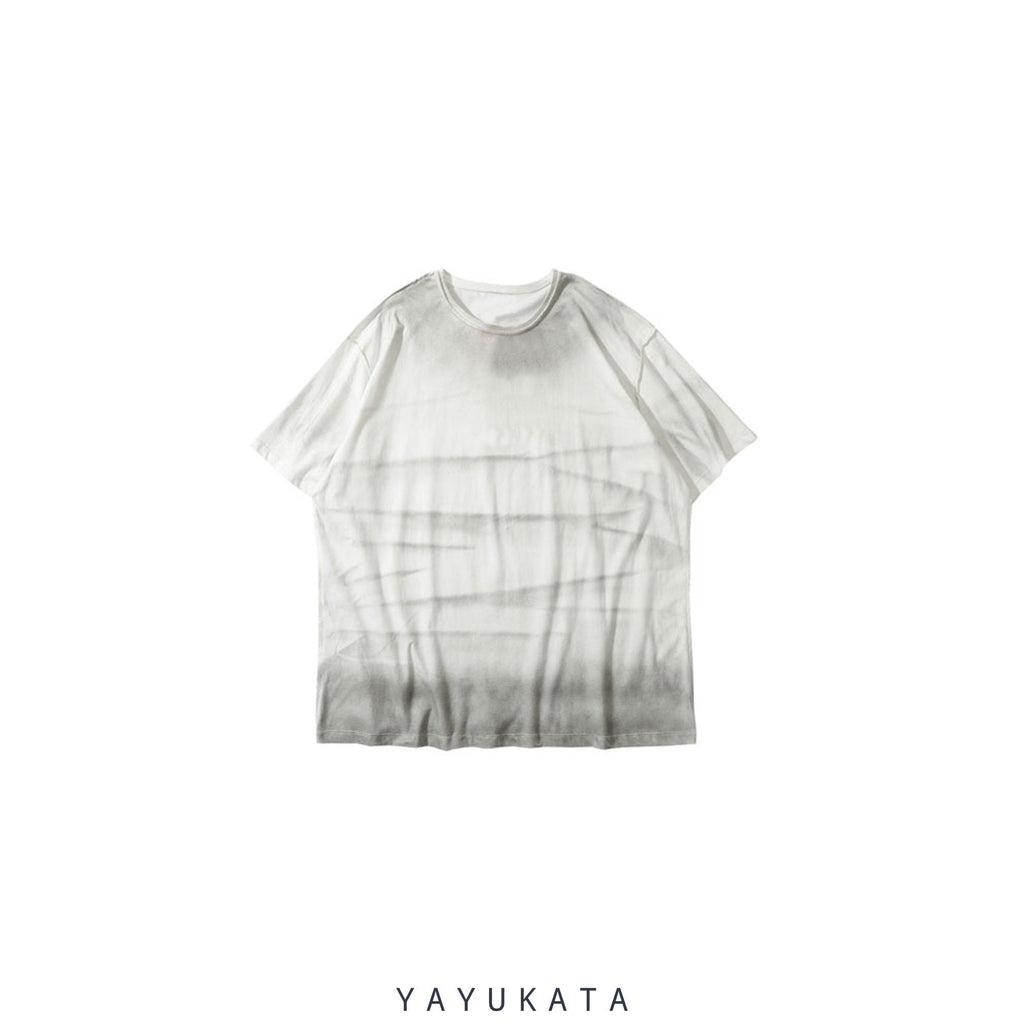 YAYUKATA Tees GRAY / XXL YV1 Printed Cotton Tee