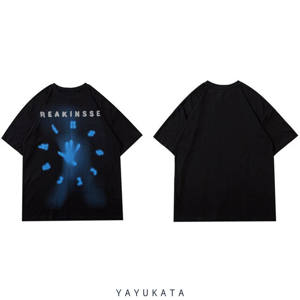 YAYUKATA Tees ML9 Reakinsse Printed Cotton Tee