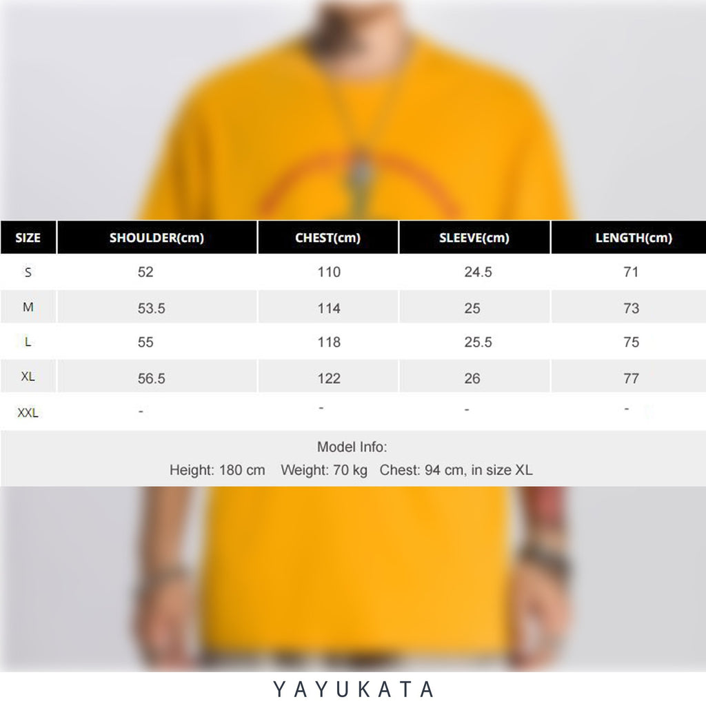 YAYUKATA Tees RE1 Printed Cotton Tee