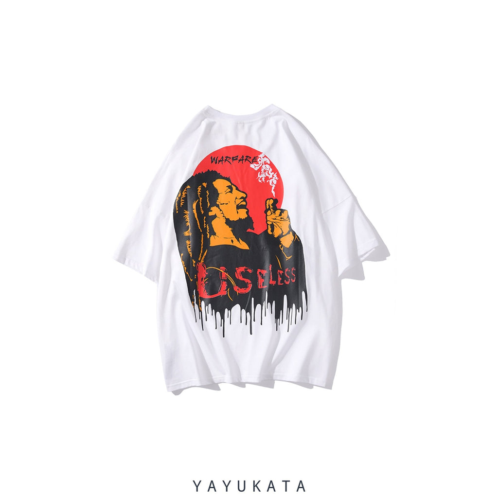YAYUKATA Tees White / L YB1 Casual Summer Cotton Tee