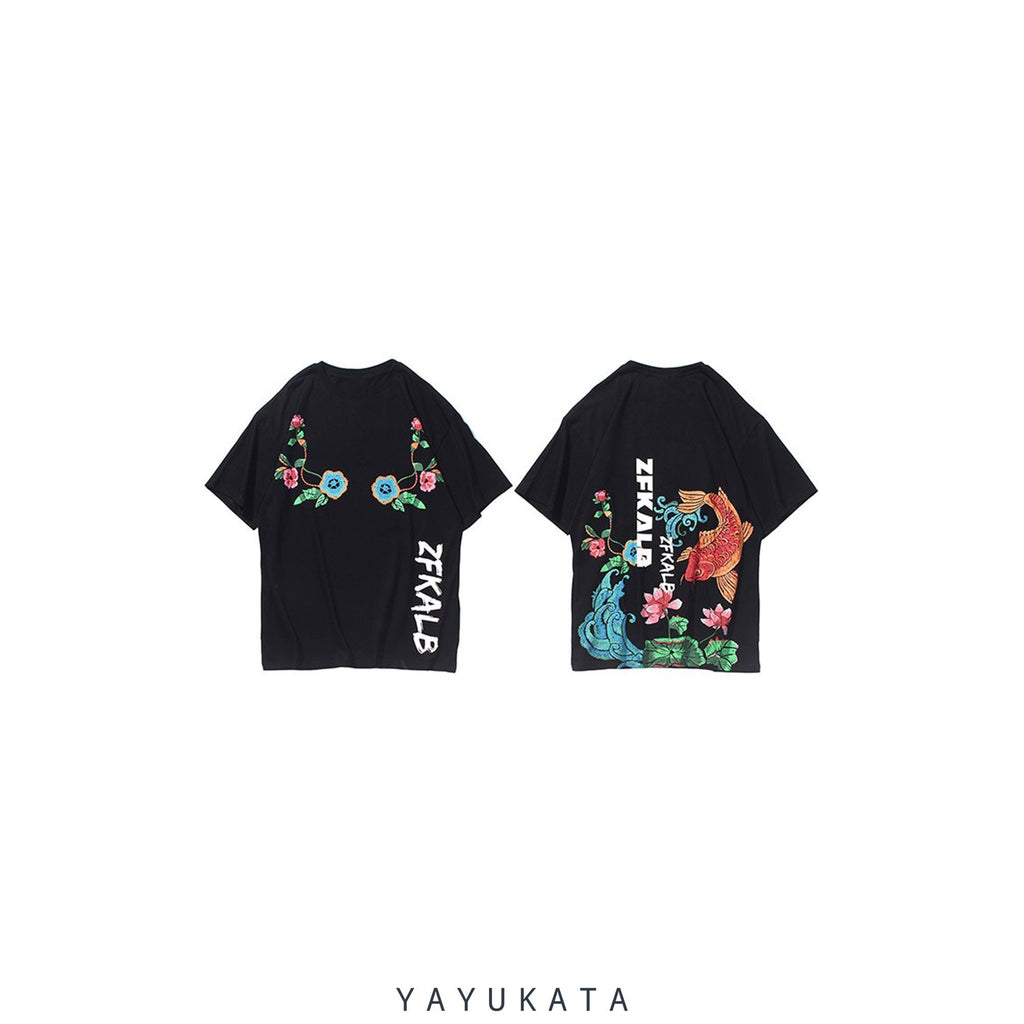 YAYUKATA Tees XD1 Printed Cotton Tee