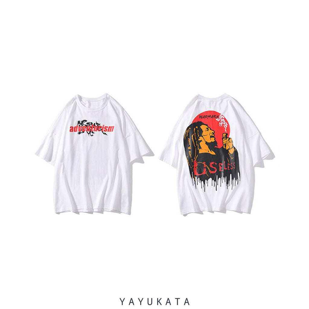 YAYUKATA Tees YB1 Casual Summer Cotton Tee