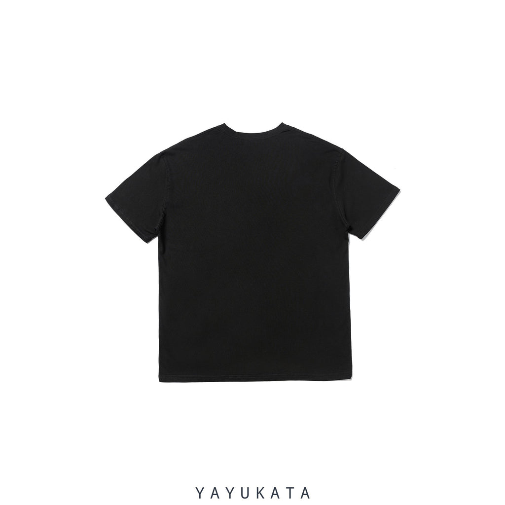 YAYUKATA Tees YB4 Graffiti Print Cotton Tee