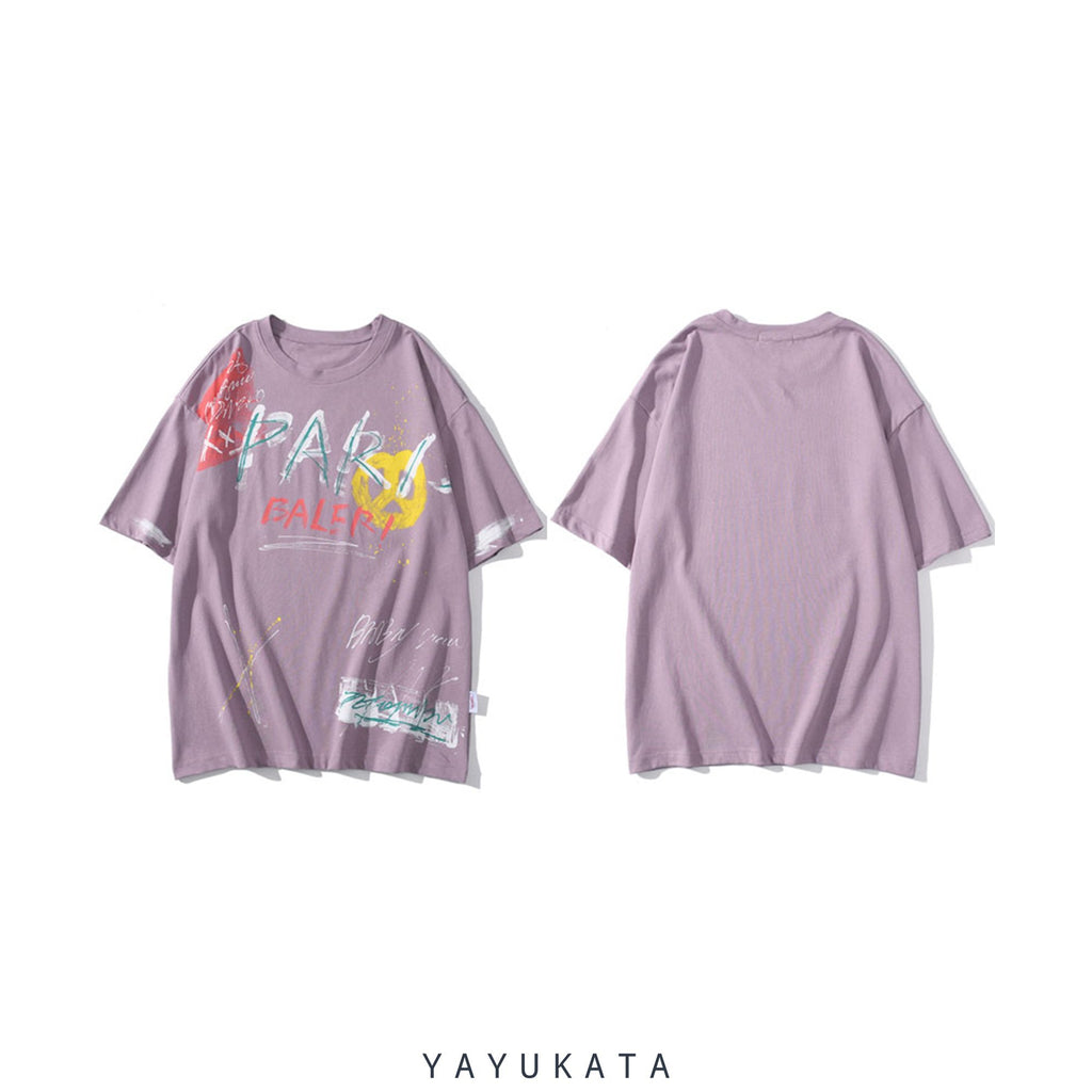 YAYUKATA Tees YR9 Printed Cotton Tee