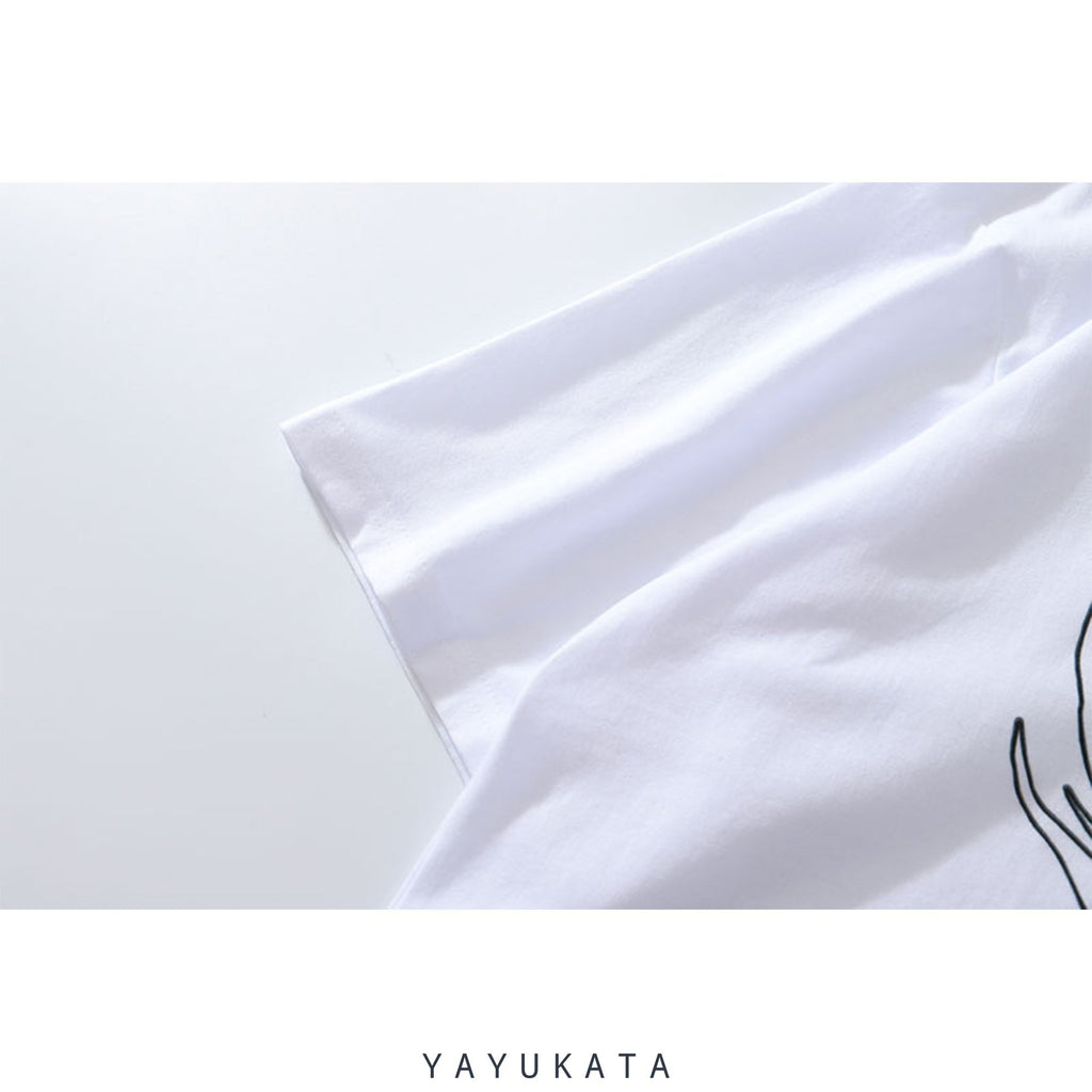 YAYUKATA Tees YT9 Printed Cotton Tee