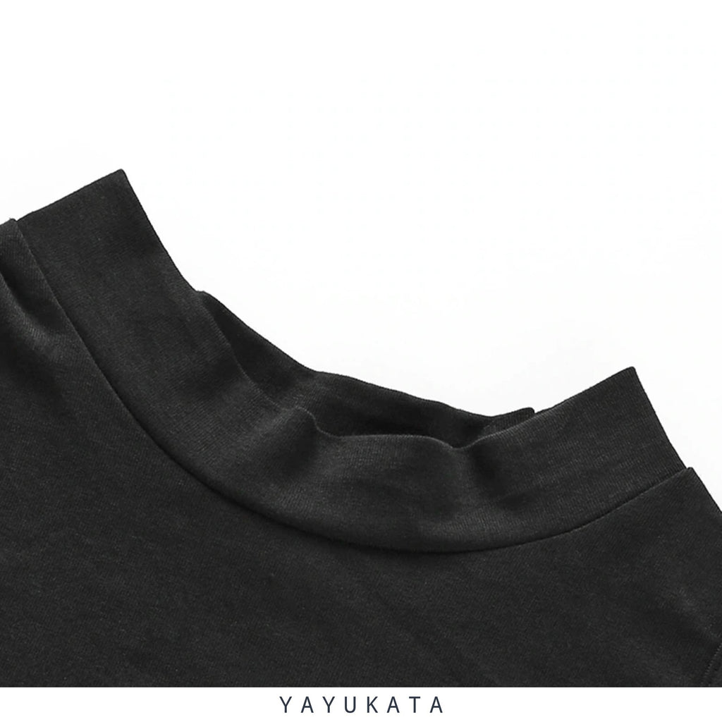 YAYUKATA Tops L YAYUKATA NA1 Long Sleeve Crop Top