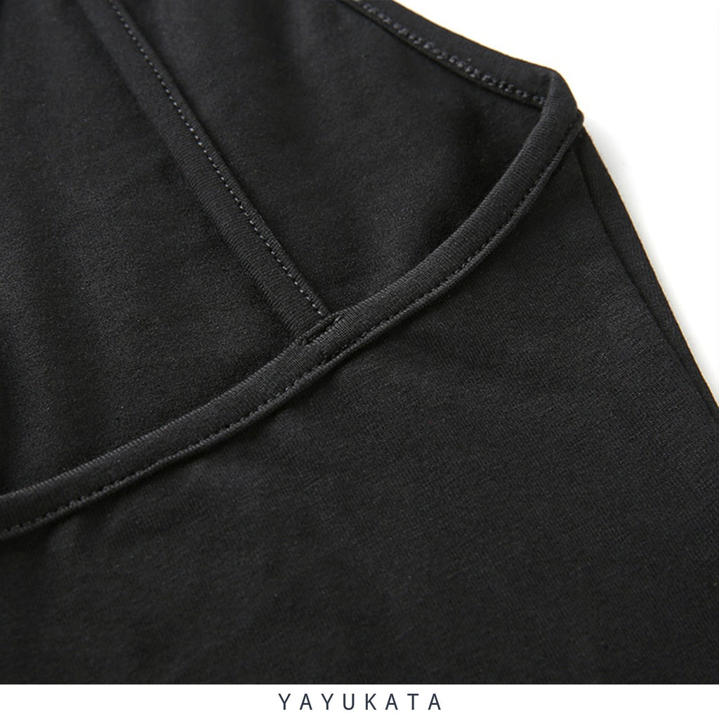 YAYUKATA Tops XI5 Backless Bodysuit