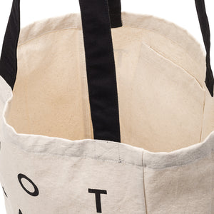 black should straps of NSFW Clothing tote bag